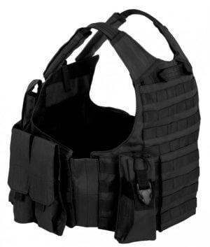 takticheskij-razgruzochnyj-bronezhilet-s-podsumkami-tactical-molle-plate-carrier-art-047-cvet-chernyj-black